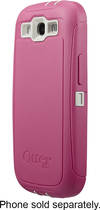 OtterBox - Defender Series Case for Samsung Galaxy S III Mobile Phones - Blush