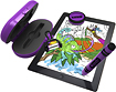 Griffin Technology - Crayola DigiTools Effects Kit for Apple iPad - Purple