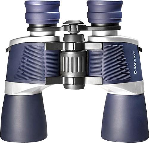 Barska - X-Treme View 10 x 50 Wide-Angle Binoculars - Blue/Silver