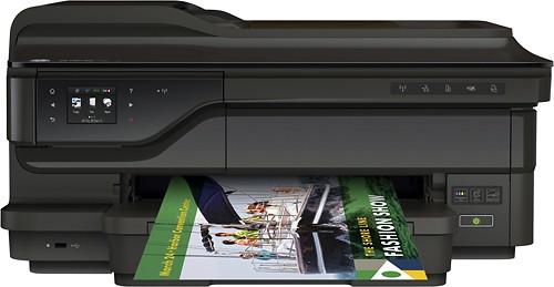 HP - Officejet Wireless e-All-In-One Printer - Black