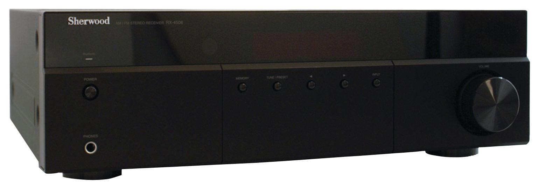 Sherwood - 200W 2-Ch. Stereo Receiver - Black