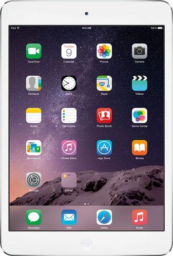 Apple® - iPad® mini Wi-Fi - 16GB - White & Silver