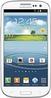 Samsung - Galaxy S III 4G with 32GB Mobile Phone - Marble White (T-Mobile)