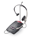 Plantronics - Telephone Headset - Black, Silver