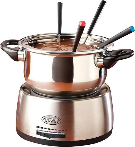 Nostalgia Electrics - Fondue Pot - Stainless-Steel