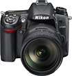 Nikon - D7000 162-Megapixel DSLR Camera with 18-200mm Lens - Black