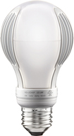 Insignia - 450-Lumen, 9-Watt Dimmable LED Light Bulb, 40 Watt Equivalent - Warm White