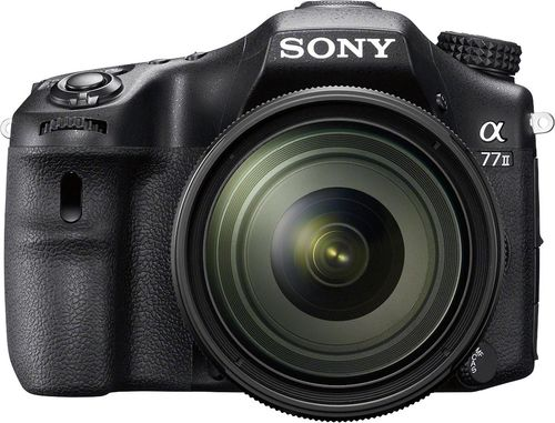 Sony - Alpha a77 II Dslr Camera with 16-50mm Lens - Black