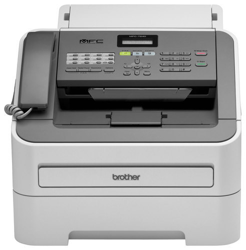 Brother - MFC-7240 Black-and-White All-in-One Printer - Black