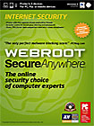 Webroot SecureAnywhere Internet Security 2013 (3-User) (1-Year Subscription)