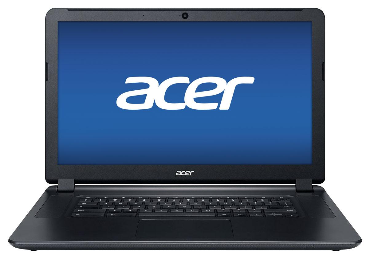 Acer - 15.6 Chromebook - Intel Celeron - 4GB Memory - 16GB Solid State Drive - Black