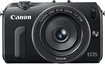 Canon - EOS M 180-Megapixel Digital Camera Kit with EF-M 22mm f/2 Lens - Black