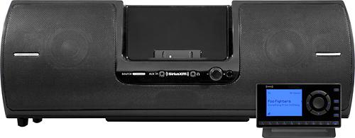 SiriusXM - Onyx EZ Satellite Radio Receiver with Portable Speaker Dock - Black