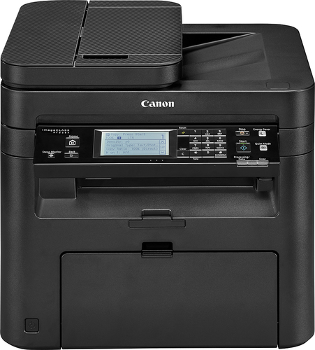 Canon - imageCLASS MF216n Black-and-White All-In-One Printer - Black