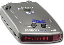 Escort - Passport All-Band Radar Laser Detector<br />