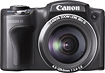 Canon - PowerShot SX500 160-Megapixel Digital Camera - Black