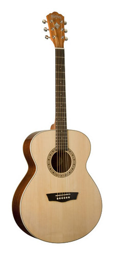 Washburn - Harvest Series 6-String Grand Auditorium Acoustic Guitar - Natural