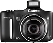 Canon - PowerShot SX160 IS 160-Megapixel Digital Camera - Black