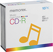 Buy Cases  - Memorex 10-Pack 40x Multicolored CD-R Discs with Matching Slim Jewel Cases
