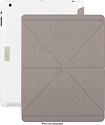 Moshi - iGlaze + VersaCover Case for Apple iPad 2 and iPad (3rd Generation) - Pearl White