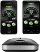 Cobra - iRadar 200 Radar/Laser Detector for Select Mobile Phones - Black