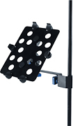 Quik Lok - Microphone Stand Adapter for Apple iPad and iPad 2 - Black