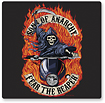 Tribeca - Sons of Anarchy Reaper Wireless Optical Mouse and Mouse Pad - Black