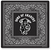 Tribeca - <i>Sons of Anarchy</i> Reaper Wireless Optical Mouse and Mouse Pad - Black