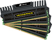 Corsair - Vengeance 4-Pack 8GB CL10 DDR3 DIMM Desktop Memory Kit
