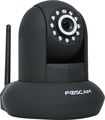 Foscam - Indoor Wireless IP Camera - Black