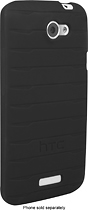 HTC - Gel Skin for HTC One X Mobile Phones - Black