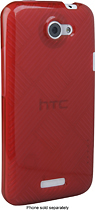 HTC - Shell for HTC One X Mobile Phones - Burgundy