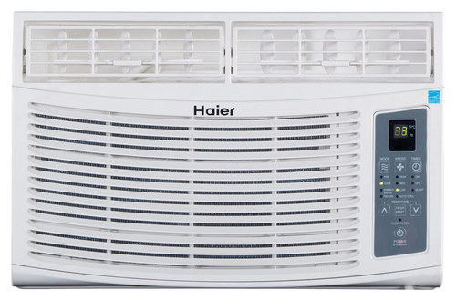 Haier - 6,000 BTU Window Air Conditioner - White