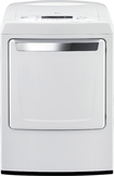 DLG1102W 27&quot; Front-Load Gas Dryer with 7.3 cu. ft. Capacity, 9 Dry Cycles, 7 Options, SmartDiagno