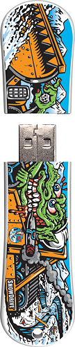 Action Sport Drives - Santa Cruz Trailblazer 16GB USB 2.0 Flash Drive - Pattern