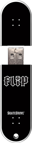 Action Sport Drives - Flip Leopard 16GB USB 2.0 Flash Drive - Pattern