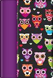 Griffin Technology - Wise Eyes Folio Case for Apple iPad mini - Plum/Black