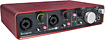 Focusrite - Scarlett 2i4 USB Recording Interface - Red