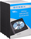 Buy Cases  - Dynex™ 10-Pack DVD Storage Cases - Black
