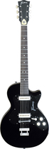 Framus - Vintage Hollywood 6-String Full-Size Single-Cutaway Electric Guitar - Black