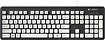Logitech - K310 Washable USB Keyboard