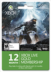 Microsoft - Halo 4: Xbox LIVE 12-Month Gold Membership + 1 Bonus Month Card