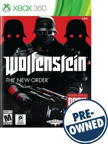 Wolfenstein: The New Order - PRE-Owned - Xbox 360