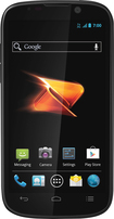 Boost Mobile - ZTE Warp Sequent No-Contract Mobile Phone - Black