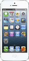 Apple - iPhone 5 with 32GB Memory Mobile Phone - White & Silver (Verizon Wireless)