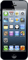 Apple - iPhone 5 with 16GB Memory Mobile Phone - Black & Slate (Sprint)