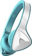 Monster - DNA On-Ear Headphones - White/Teal