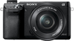 Sony - NEX-6 Compact System Camera with 16-50mm Retractable Lens - Black