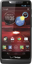Motorola - DROID RAZR M 4G LTE Mobile Phone - Black (Verizon Wireless)