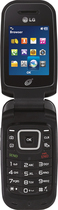 TRACFONE - LG 440G No-Contract Mobile Phone - Black